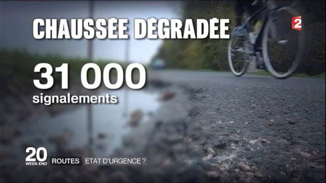 Dans quel état sont les routes de France ?