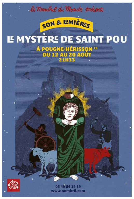 L'affiche du Mystère de Saint Pou  (DR)