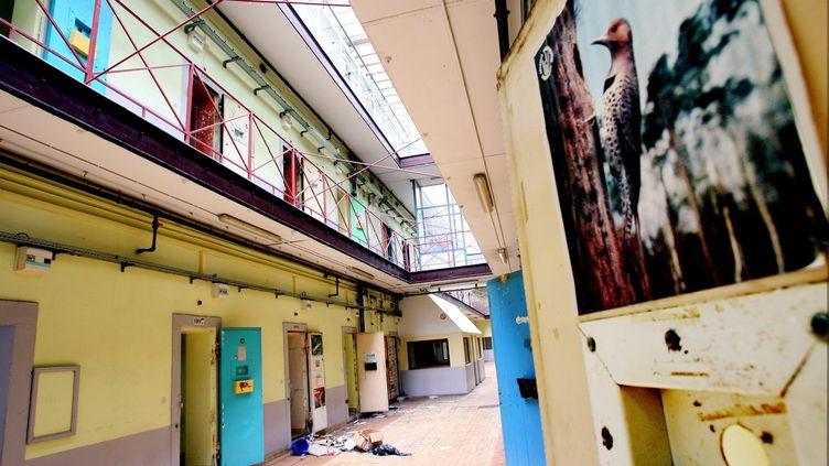 L'ancienne prison Charles-III de Nancy (Meurthe-et-Moselle), prise en octobre 2009, quelques mois après sa fermeture. (ANTHONY PICORE /LE REPUBLICAIN LORRAIN / MAXPPP)