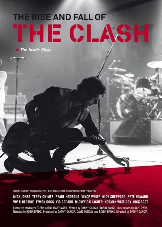 """The Rise and Fall of The Clash"" de Danny Garcia.  (Droits réservés)"