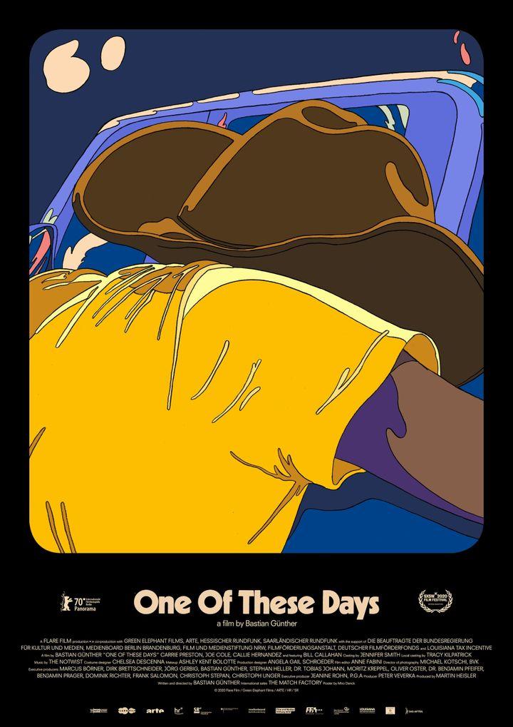 "Affiche de ""One of these days"", deBastian Günther (2019) (DEU USA 2020 Panorama)"