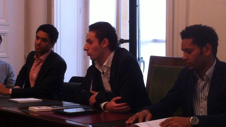 Maxime Verner à l'Assemblée nationale en novembre 2011 (ST)