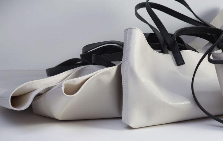 Les modèles en sac PVC de la marque Cahu (Cahu)