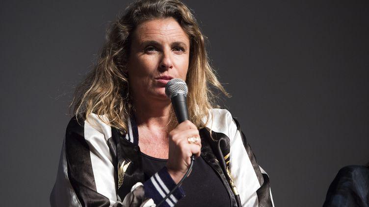 Lisa Azuelos, le 28 avril 2017. (VALERIE MACON / AFP)