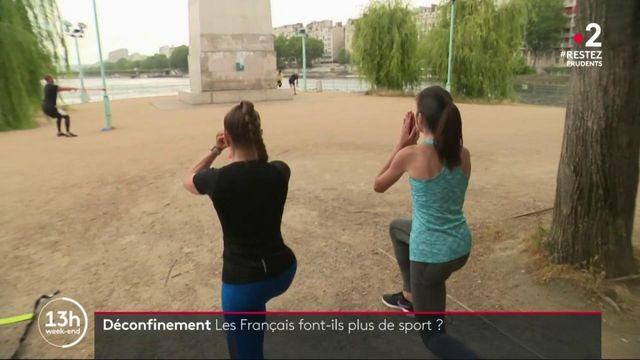 Les Français font-ils plus de sport depuis le confinement ?