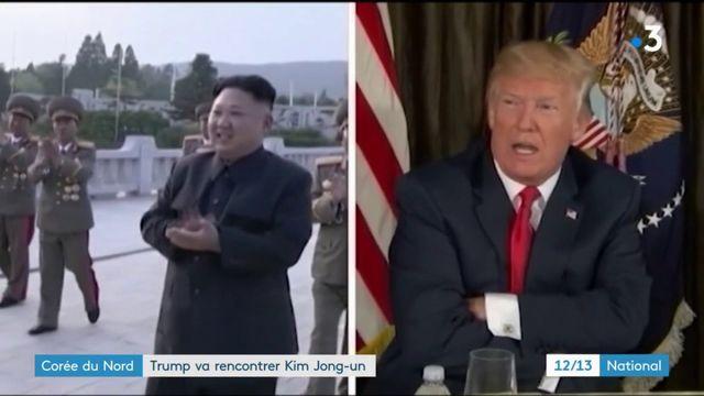 Corée du Nord : Donald Trump va rencontrer Kim Jong-un