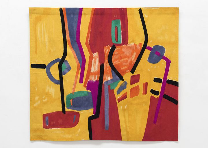 "Etel Adnan, ""Matinée récréative""  (Etel Adnan, courtesy Galerie Lelong)"