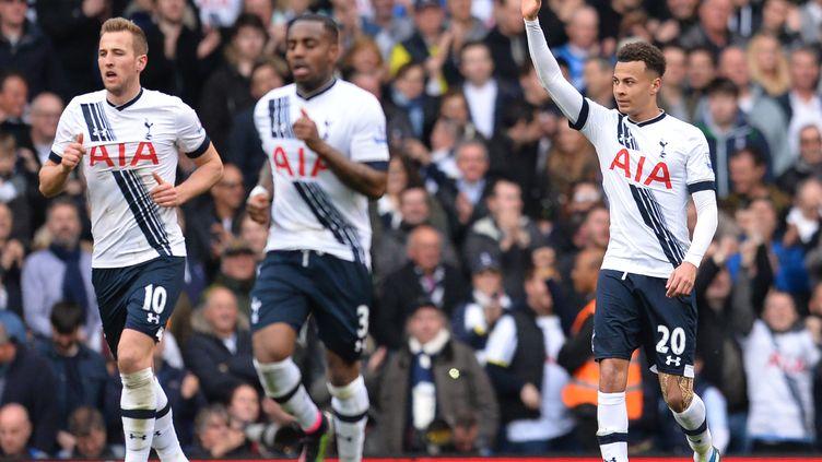 Le joueur de Tottenham Dele Alli, premier buteur contre Manchester United (GLYN KIRK / AFP)