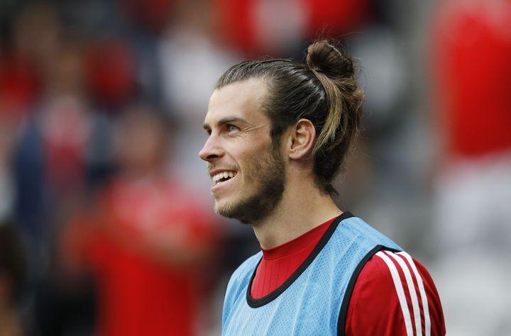Gareth Bale, avant de rencontrer la Belgique, le 1er juillet à Lille (Nord). (REUTERS STAFF / REUTERS)