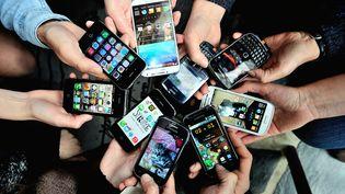 L'Autorité de régulation des télécoms (Arcep) a publié, mardi 12 juillet, son étude annuellesur la qualité des services mobiles. (PHILIPPE HUGUEN / AFP)