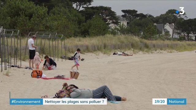 Environnement : nettoyer les plages sans polluer ?
