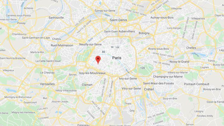 Les tirs ont eu lieu devant un restaurant de la rue Dutot, dans le 15e arrondissement de Paris. (GOOGLE MAPS)