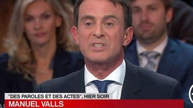 Manuel Valls réagit aux mauvais chiffres du chômage