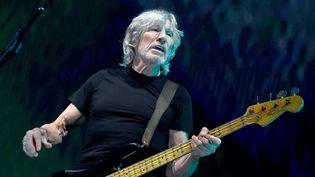 """Roger Waters le 20 juin 2017 à Los Angeles durant le """"Us vs Them"""" tour.  (Kevin Winter / Getty / AFP)"""