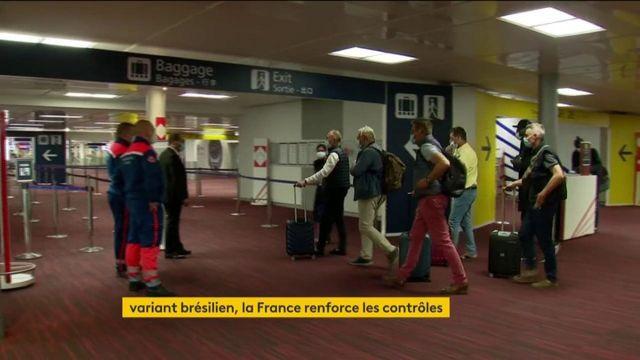 Covid-19 : contrôles renforcés dans les aéroports face au variant brésilien