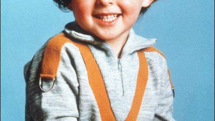 Photo non datée du petit Grégory Villemin, retrouvé noyé le 16 octobre 1984 alors qu'il avait 4 ans, pieds et poings liés dans la Vologne (Vosges). (AFP)
