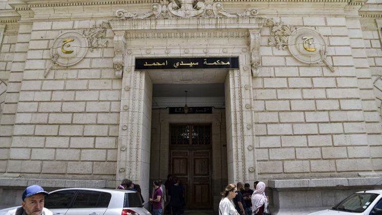 Tribunal de Sidi M'hamed, Alger, le 10 juin 2019. (RYAD KRAMDI / AFP)