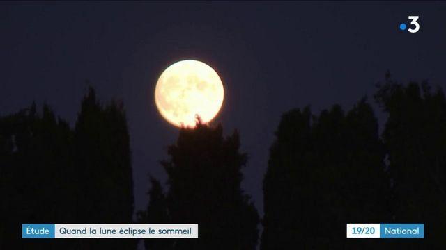 Étude : l'influence de la pleine lune sur le sommeil
