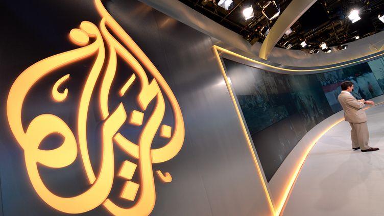 Dans les locaux d'Al-Jazeera America, à New York (Etats-Unis), le 16 août 2013. (STAN HONDA / AFP)