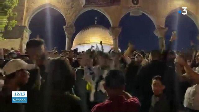 Proche-Orient : nouvelle nuit d'affrontements entre Israël et la Palestine