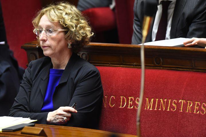La ministre du Travail, Muriel Pénicaud, à l'Assemblée nationale, le 10 juillet 2017. (BERTRAND GUAY / AFP)