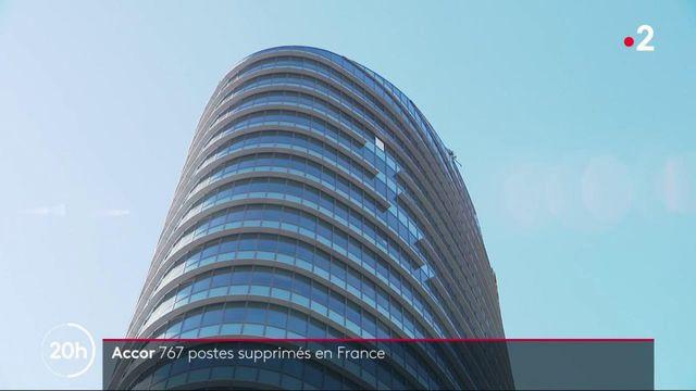 Emploi : une filiale du groupe hôtelier Accor va licencier 767 salariés en France