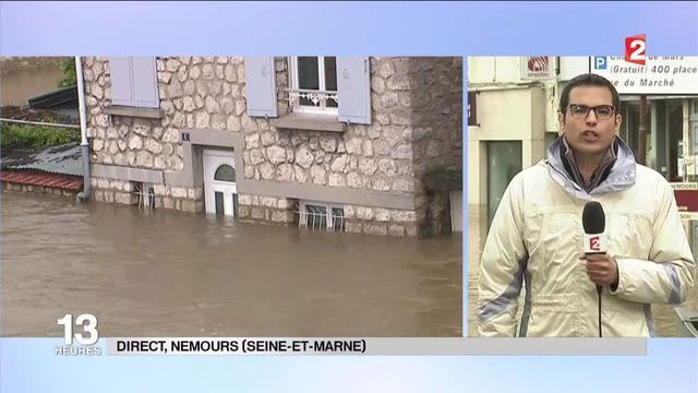 """Inondations : """"À Nemours, la crue a dépassé celle de 1910"""""""