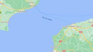 Les sauvetages se sont déroulés sur la mer Manche, le 1er avril 2021. (CAPTURE D'ECRAN GOOGLE MAPS)