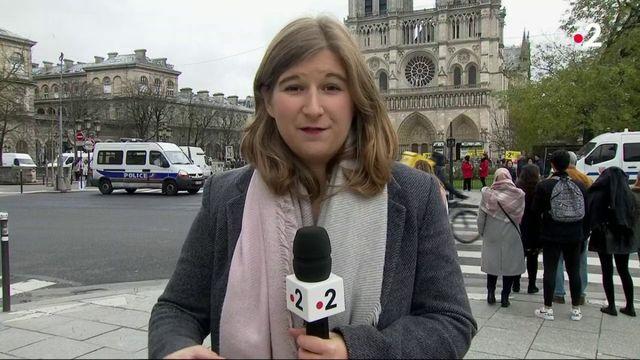 Paris : Sécurité renforcée à la cathédrale Notre-Dame