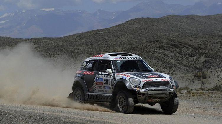 Nasser Al-Attiyah (Mini) veut gagner un autre Dakar (ERIC VARGIOLU / E.V.A.)