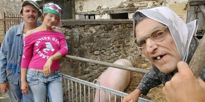 Les Bodin's en spectacle à la ferme  (A.Jocard/AFP)