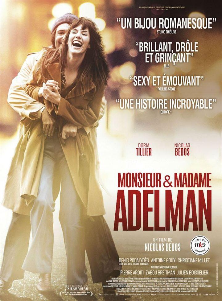 """""""Monsieur et Madame Adelman"""" : l'affiche  (Le Pacte)"""