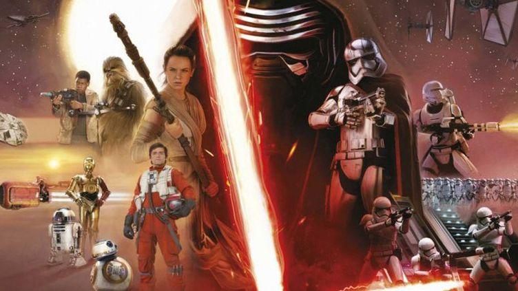 Affiche Star Wars - Le réveil de la force  (Lucasfilm / Disney)