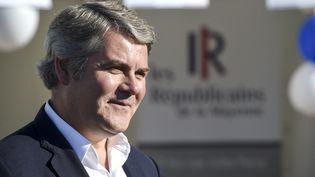 Franck Louvrier, lors l'université d'été du parti Les Républicains à La Baule, le 1er septembre 2018. (SEBASTIEN SALOM GOMIS / AFP)