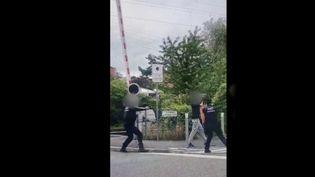 Val-d'Oise : un homme armé abattu par des agents de la sureté ferroviaire. (FRANCE 3)