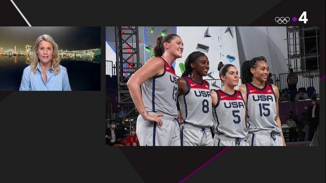 Résumé USA-Russie basket 3X3