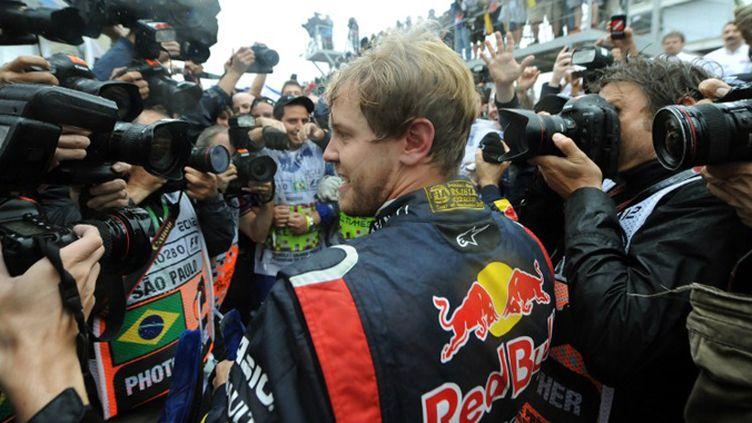 Sebastian Vettel (ANTONIO SCORZA / AFP)