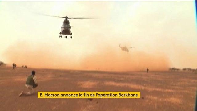 Sahel : Emmanuel Macron annonce la fin de l'opération Barkhane, les modalités du retrait français encore à préciser