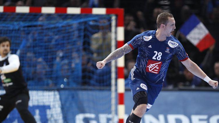 Valentin Porte, symbole d'une brillante équipe de France (THOMAS SAMSON / AFP)