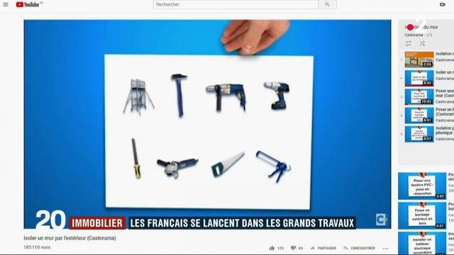 Immobilier : les Français se lancent dans les grands travaux