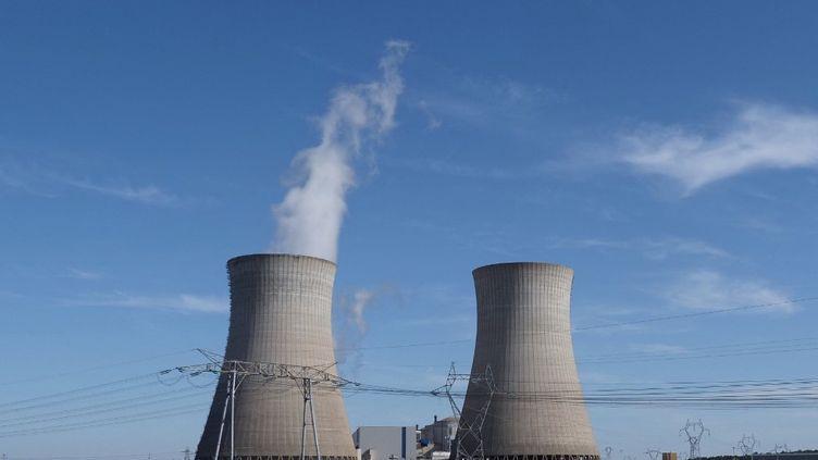 La centrale nucléaire deDampierre-en-Burly (Loiret), le 23 août 2019. (GUILLAUME SOUVANT / AFP)