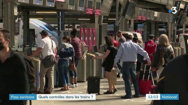SNCF : comment contrôler les pass sanitaire ?