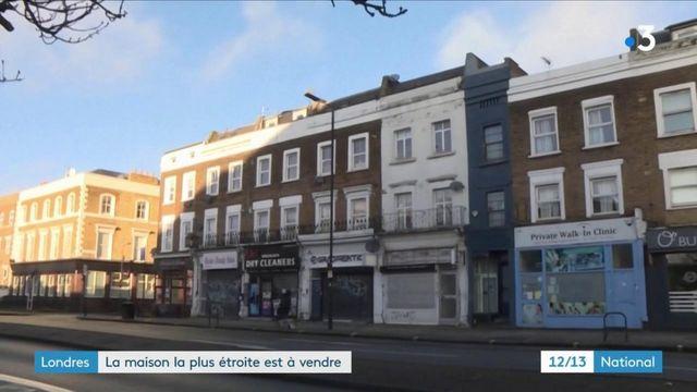 Royaume-Uni : la maison la plus étroite de Londres cherche son nouveau propriétaire
