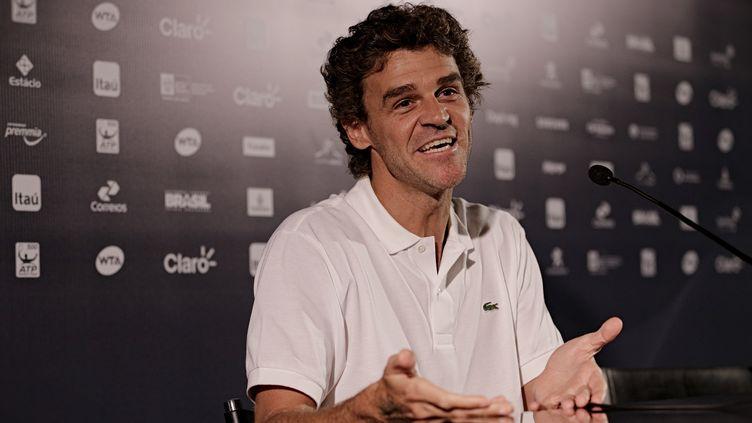L'ancien joueur de tennis brésilien, Gustavo Kuerten. (CITIZENSIDE/PAULO  CAMPOS / CITIZENSIDE.COM)