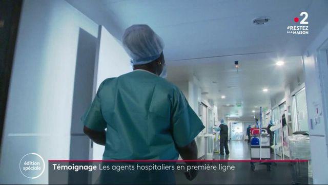 Témoignage : les agents d'entretien hospitalier au front de l'épidémie