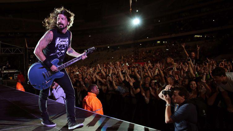 Le leader des Foo Fighters Dave Grohl se laissera-t-il convaincre par ses fans de Cesena d'aller jouer en Emilie-Romagne ?  (Nardus Engelbrecht/Gall/REX/SIPA)