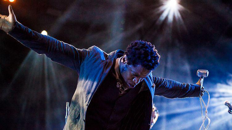 Le chanteur Ty Taylor enflamme Jazz à Vienne  (Marion Tisserand)