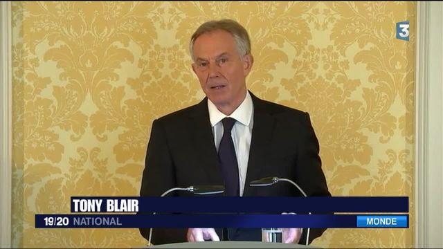 Tony Blair fait face à la critique après son engagement dans la guerre en Irak