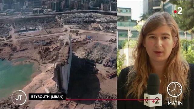 Explosion au Liban: course contre la montre pour retrouver des survivants à Beirouth