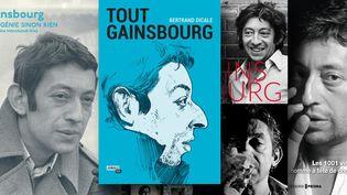 Les livres qui célèbrent le 25e anniversaire de la mort de Gainsbourg